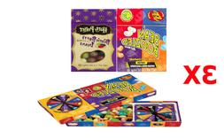 3 PCS  1 Jelly Belly Spinner Game Box + 1 Bean Boozled + 1 H