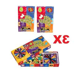 3X 4th Edition 1 Jelly Belly Spinner Game 3.5oz + 2 Bean Boo
