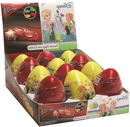 Disney Frozen and Cars 3 Assorted Easter Eggs with Candy, 0.