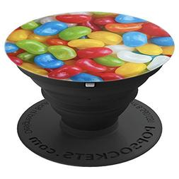 Jelly Beans Colorful Candy Sweet Treats Sugar Food - PopSock