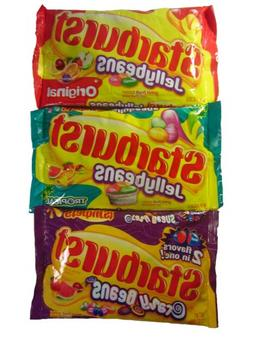 Starburst Jelly Bean 14 Oz. Variety Pack of 3: Original, Tro