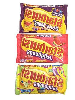 Starburst Jelly Bean Variety Pack of 3: 1 Fave Reds, 1 Crazy