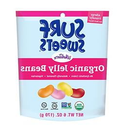Surf Sweets Organic Jelly Beans, Nut Free, Gluten Free, Dair