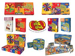 Bean Boozled Games 3rd & 4th Editions and Harry Potter Berti