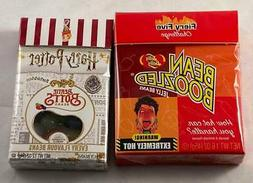 CRAZY JELLY BEAN GIFT SET! Two Pack of BEAN BOOZLED & Harry