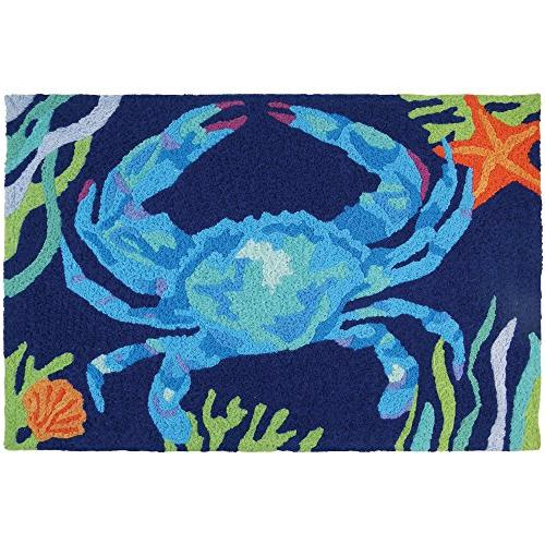 deep blue crab coastal indoor