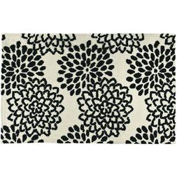 """Simple Spaces Rug by Jellybean Midnight Mums 21"""" x 33"""""""