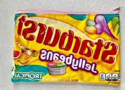 Starburst Tropical Jellybeans Candy Wrapper Bag. Pouch. Case