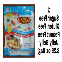 Jelly Belly Sugar-Free Assorted Jelly Beans 8.25 oz Bag New